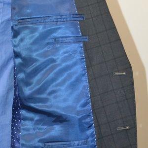 Nick Graham Suits & Blazers - Nick Graham 42L Sport Coat Blazer Suit Jacket Gray